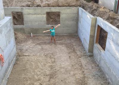 Basement-digout